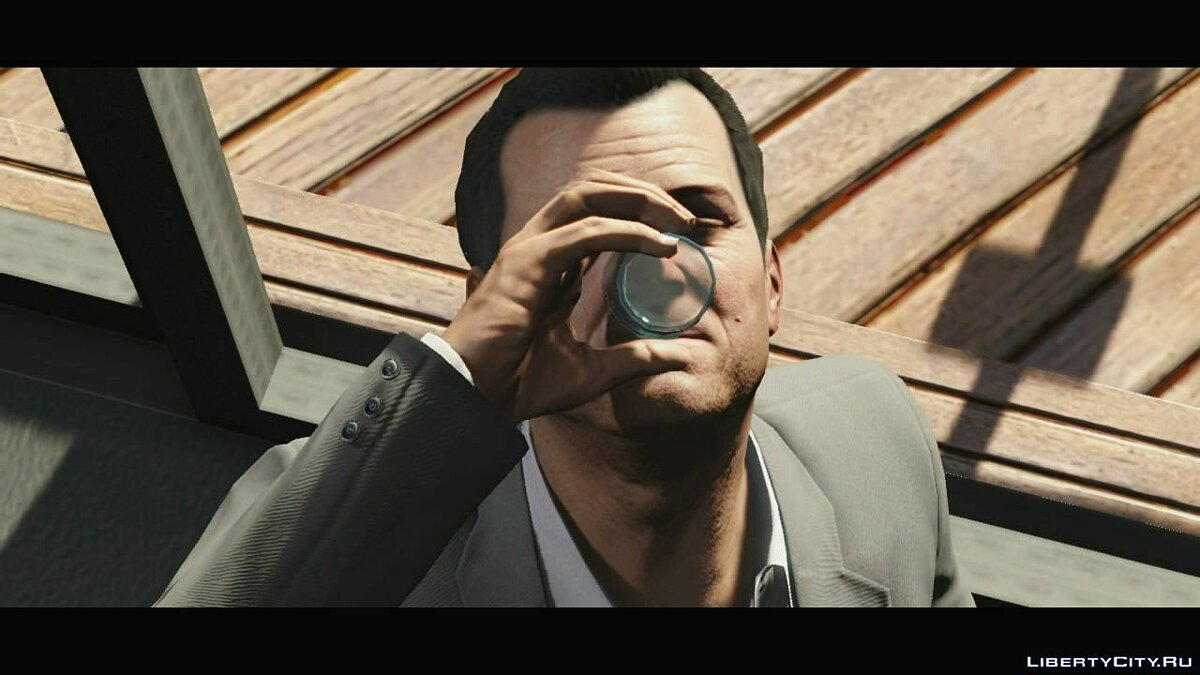 Video Trailer about Michael (Russian subtitles) for GTA 5