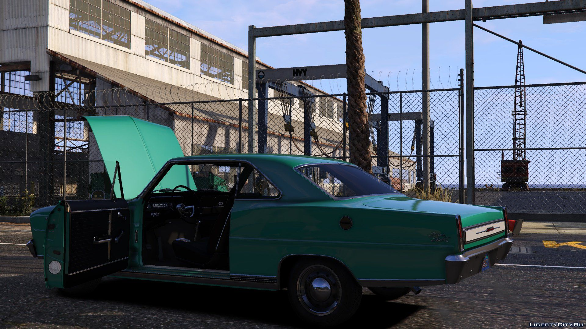 1966 Chevrolet Chevy Ii Nova Ss 10 For Gta 5 Screenshot 4