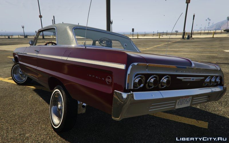 Create Your Own Car Games And Drive It >> Chevrolet Impala 1964 SS Hard Top 2.0 [Lowrider DLC Upgrade] for GTA 5