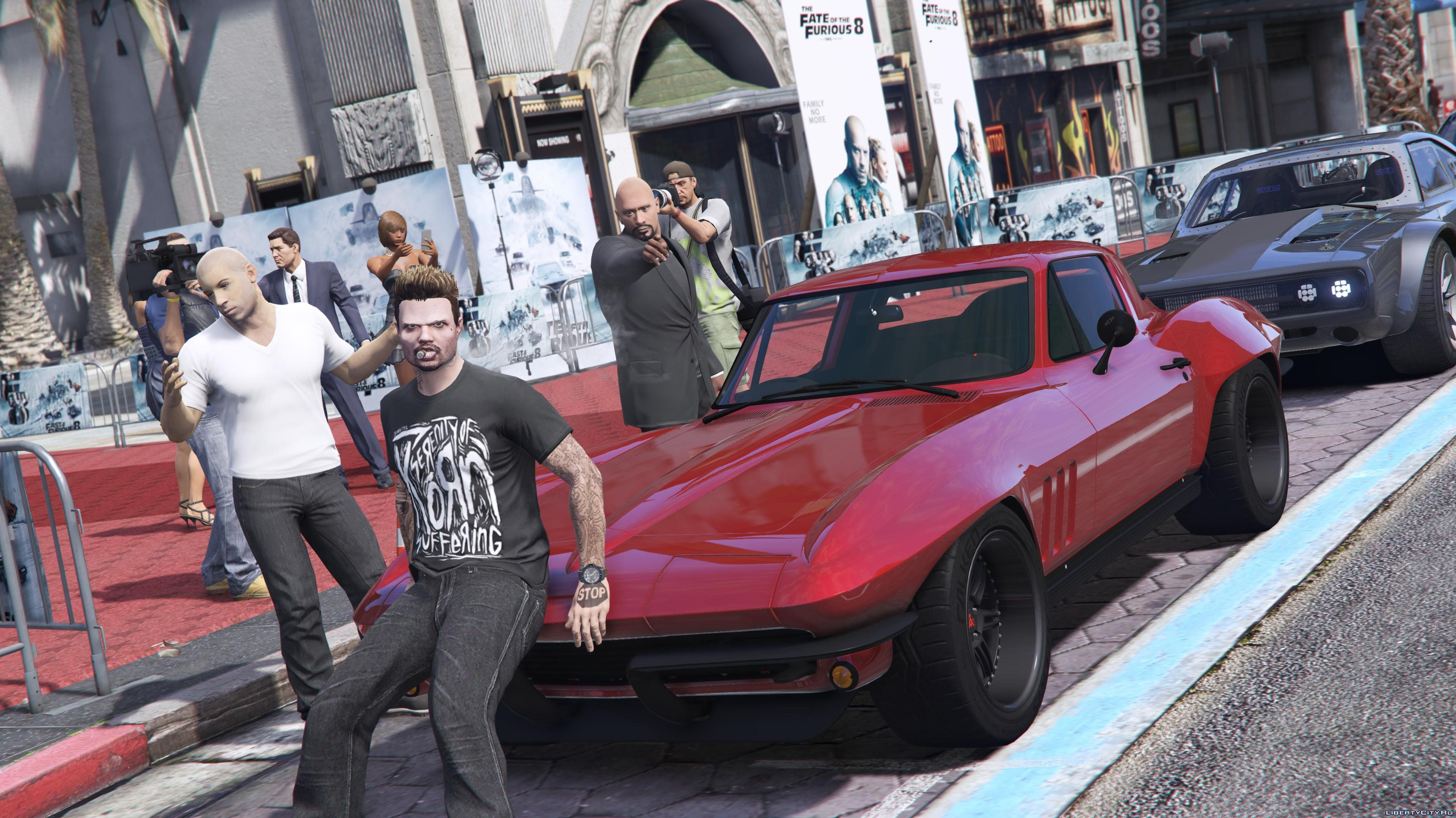1966 Chevrolet Corvette Stingray From Fast Furious 8 10 For Gta 5 Coupe