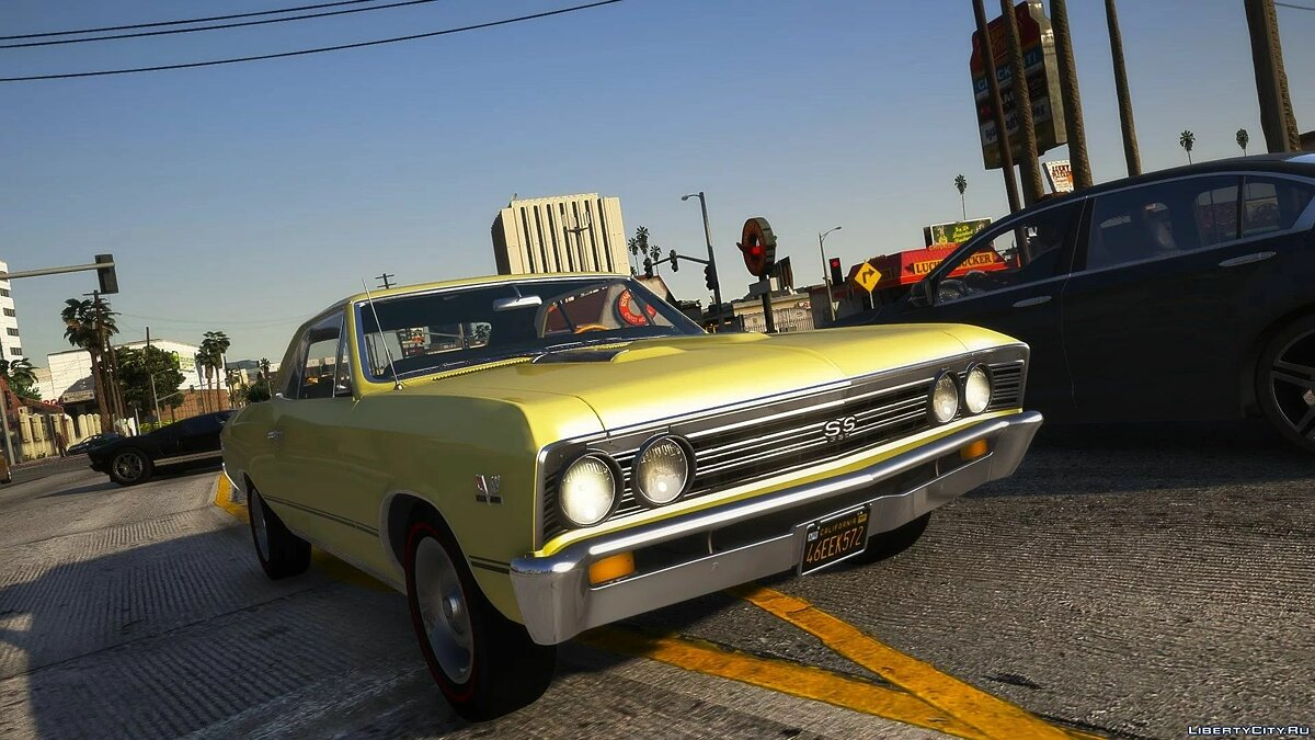 Chevrolet car 1967 Chevrolet Chevelle SS [Add-On   LODs   Template] 1.0 for GTA 5