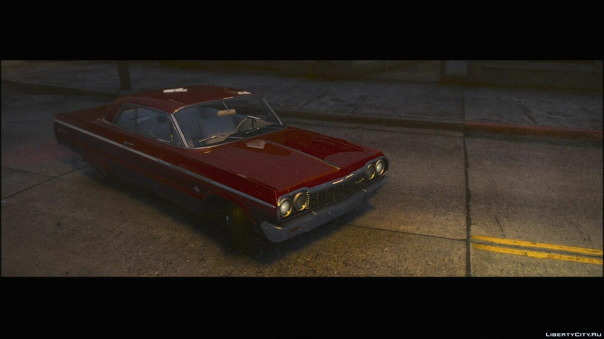 Chevrolet car 1964 Chevrolet Impala SS [Add-On | Extras | Tuning | LODs | Template] 1.0 for GTA 5