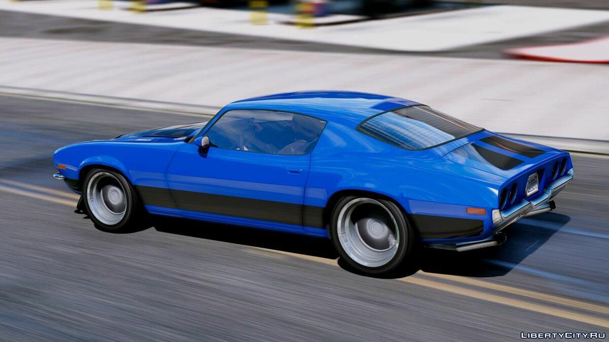 Chevrolet car Chevrolet Camaro Pro Touring 1970 [Add-On | Replace ... 1.0 for GTA 5