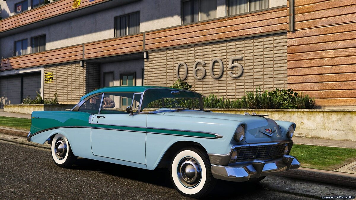 Chevrolet car Chevrolet Bel Air & Nomad '56 [Add-On | LODs] 1.2 for GTA 5