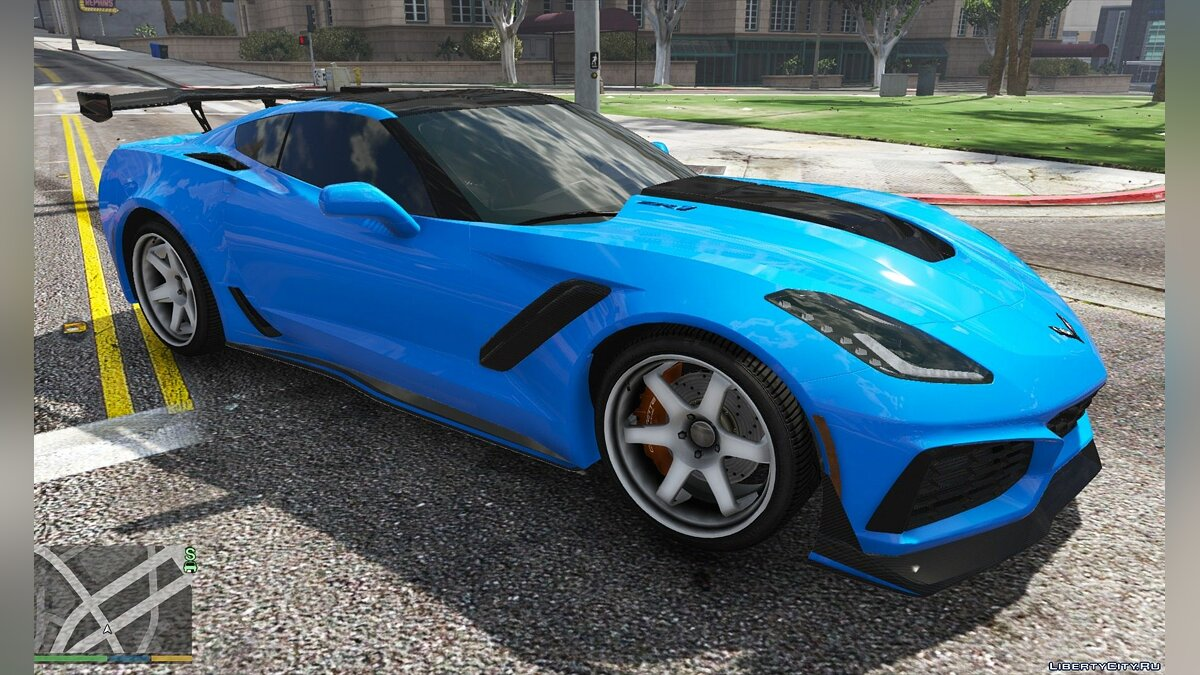 Chevrolet car Chevrolet Corvette ZR1 2019 [Add-On] 1.0 for GTA 5