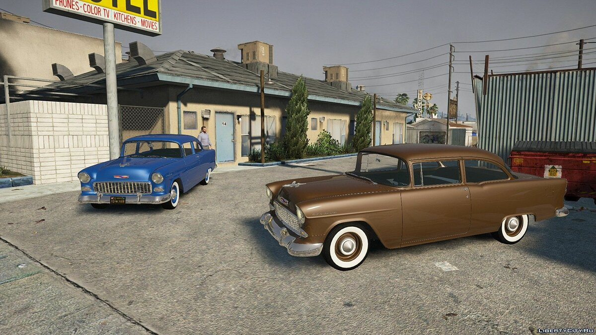 Chevrolet car Chevrolet 150 '55 [Add-On] 1.2 for GTA 5
