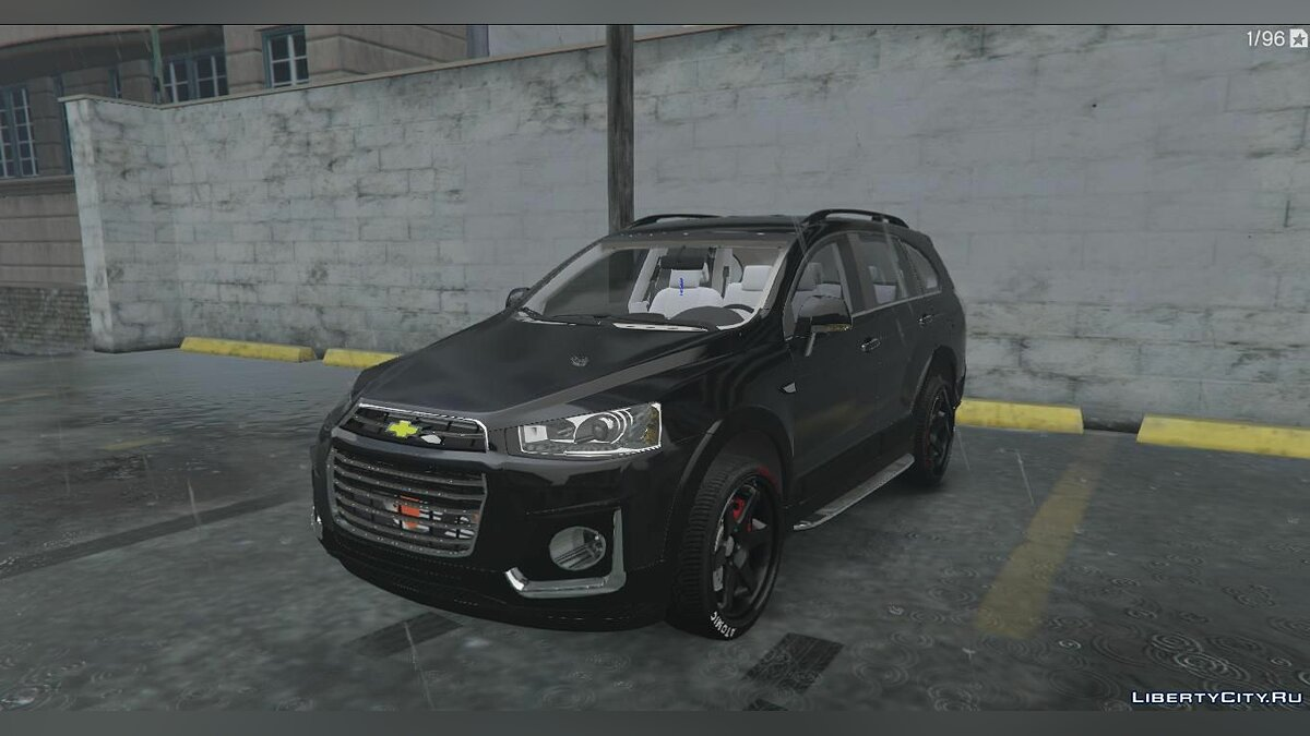 Chevrolet car CHEVROLET CAPTIVA 4 UZ + Тюнинг for GTA 5