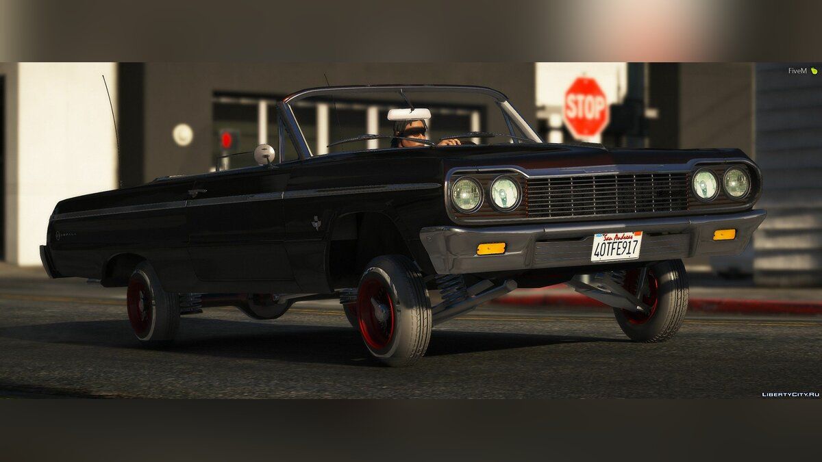 Chevrolet car 1964 Chevy Impala [FIVE M ADDON] 1.0 for GTA 5