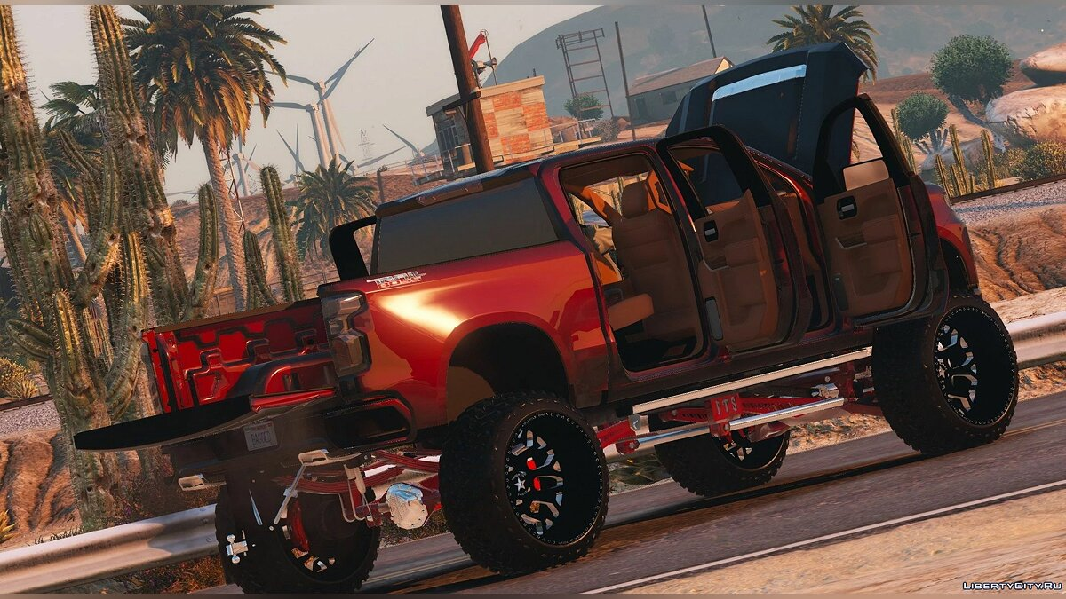 Chevrolet car 2020 Chevrolet Silverado Trail Boss [Add-On] 1.0 for GTA 5