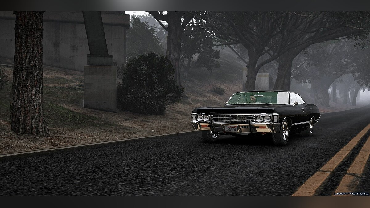 Chevrolet car Chevrolet Impala 1967 from the TV series
