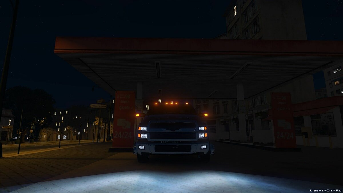 2019 Chevy 4500 (REPLACE) (BETA) for GTA 5 - screenshot #4