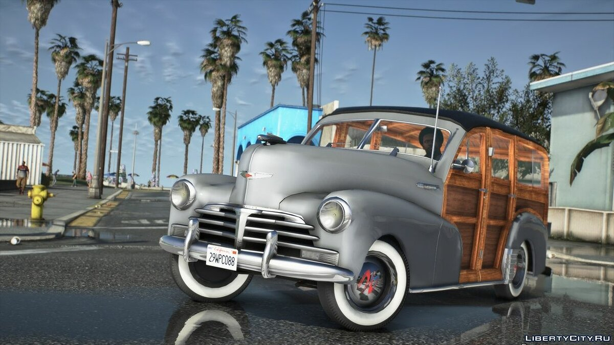 Chevrolet car 1948 Chevrolet Fleetmaster Woody [Add-On | LODs] 1.1 for GTA 5