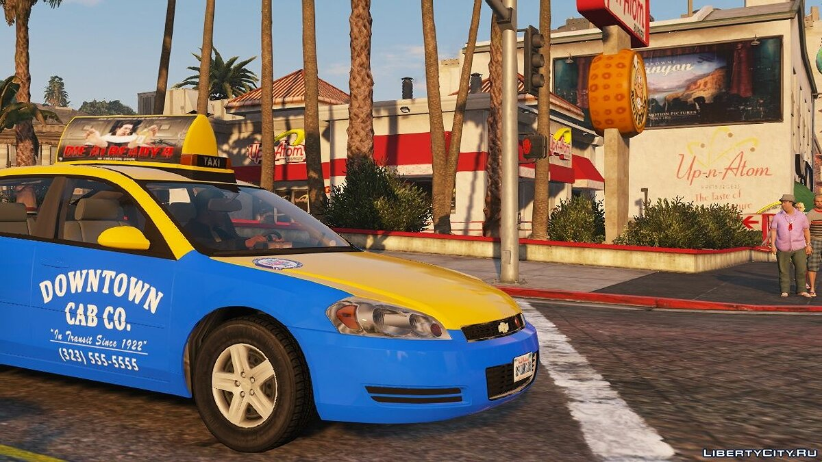 Chevrolet car 2006 Chevrolet Impala LS [Wipers | Template | Replace] 1.4 for GTA 5