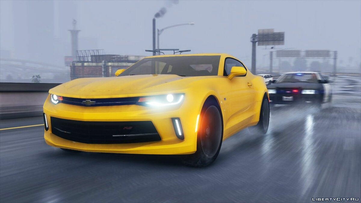 Chevrolet car Chevrolet Camaro RS 17 '[Add-On / Replace | LODs] 1.0 for GTA 5