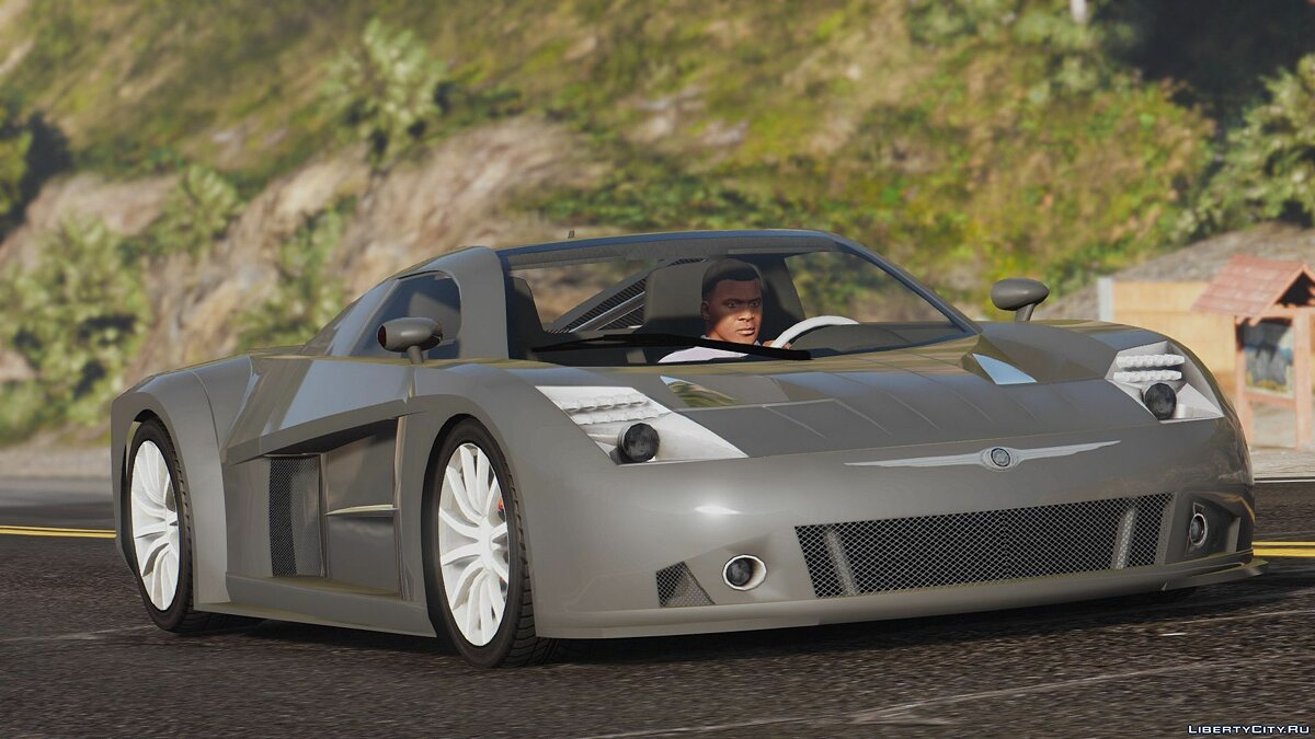 Chrysler car Chrysler ME Four-Twelve [Add-On | Wipers] 1.1 for GTA 5