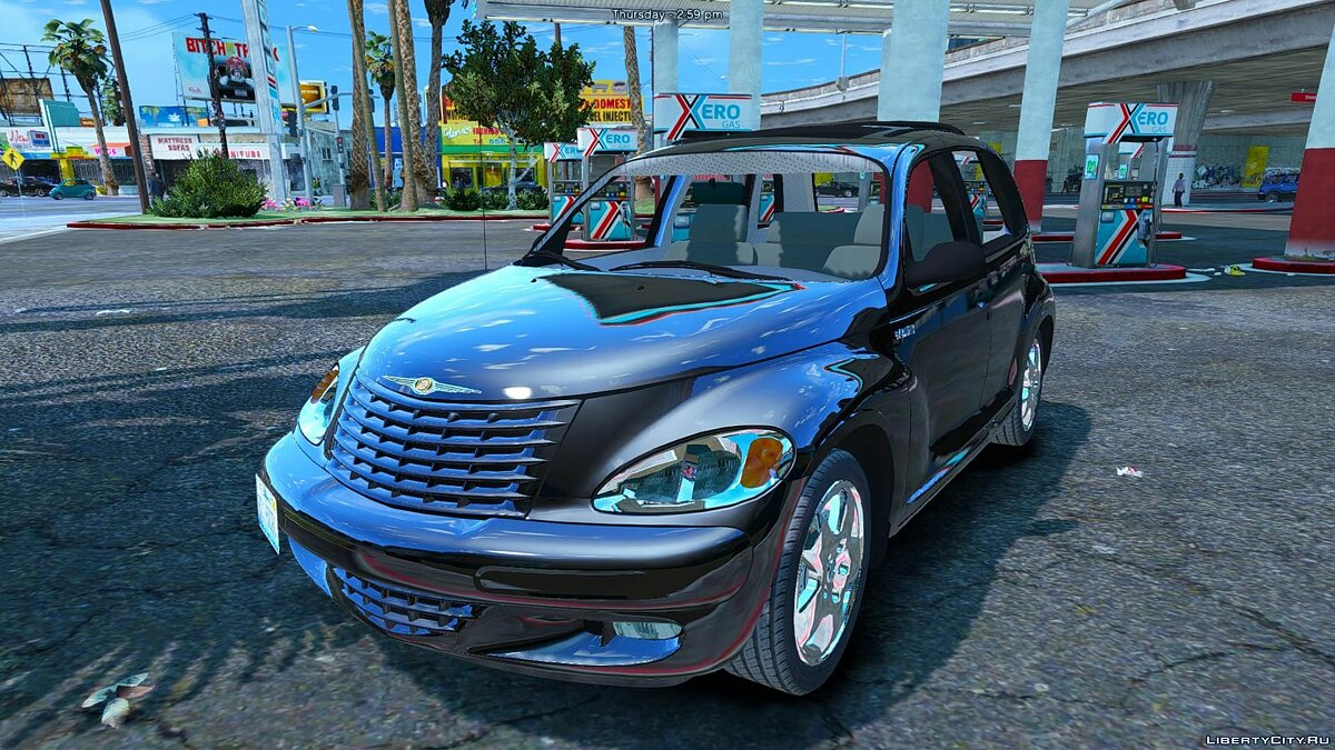 Chrysler car Chrysler PT Cruiser 1.1 for GTA 5