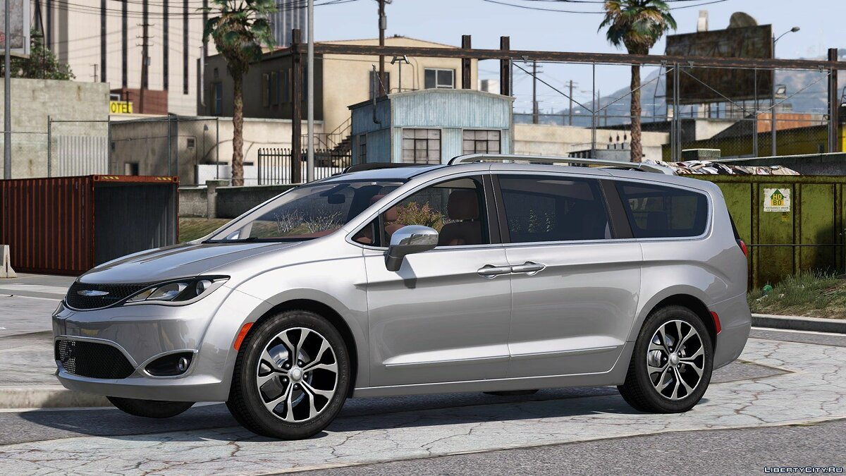 Chrysler car 2017 Chrysler Pacifica Limited 2.0 (Replace) 1.2 for GTA 5