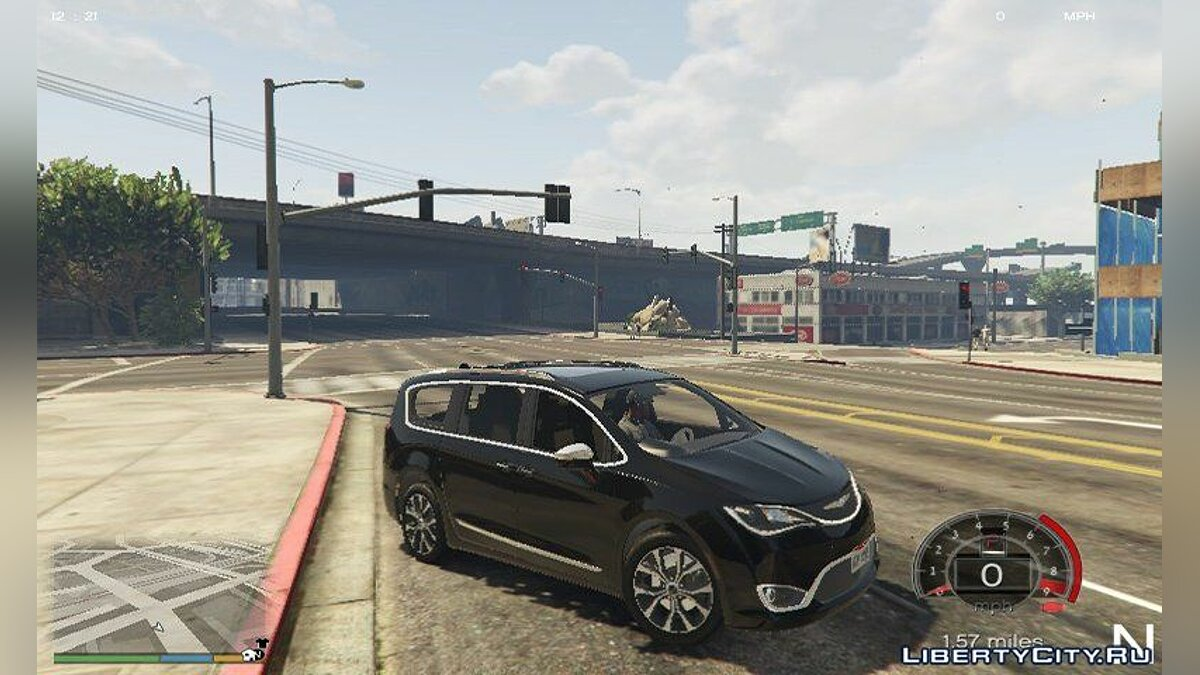 Chrysler car 2017 Chrysler Pacifica Limited 1.1 for GTA 5