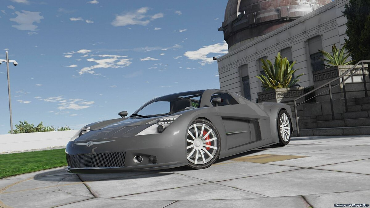 Chrysler car Chrysler ME Four-Twelve [Add-On | Wipers] for GTA 5