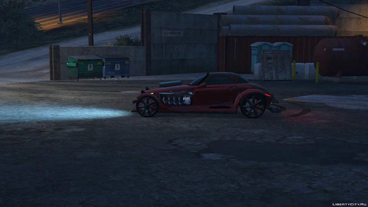 Chrysler car 1997 Chrysler Prowler 1.0 for GTA 5