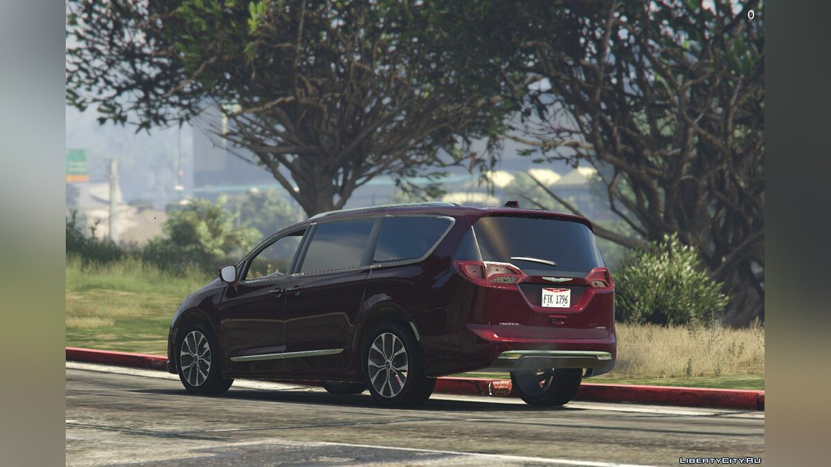 Chrysler car 2017 Chrysler Pacifica Limited 1.2 for GTA 5