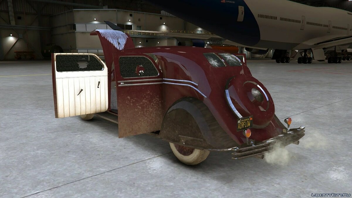 Chrysler car 1934 Chrysler Airflow [Add-On / Replace | LODs] 1.05 for GTA 5