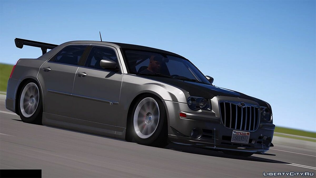 Chrysler car 2008 Chrysler 300c SRT8 [Tuning / Livery / Add-on / DUB / Template] version 1.1 for GTA 5