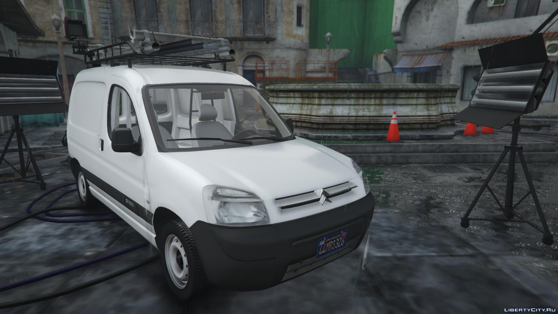 citroen berlingo replace extras add on 1 2 for gta 5. Black Bedroom Furniture Sets. Home Design Ideas