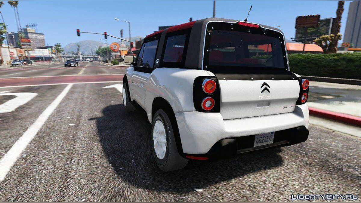 Citroën car Citroën E-Mehari 2017 (Add-on) 1.0 for GTA 5