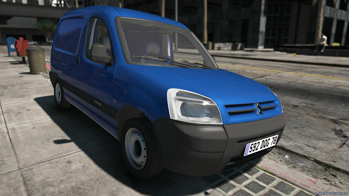 Citroën car Citroen Berlingo [REPLACE | EXTRAS | ADD-ON] 1.2 for GTA 5