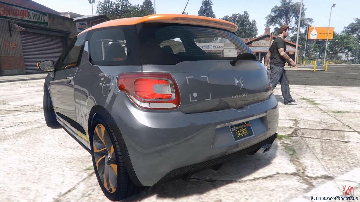 Citroën car 2011 Citroën DS3 Racing [Add-on / Replace] v1 for GTA 5