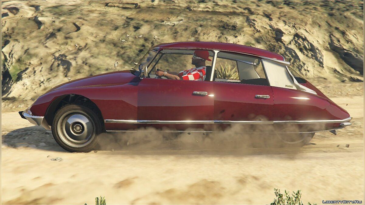 Citroën car Citroen DS21 [Add-On] [Replace] 1.0 for GTA 5