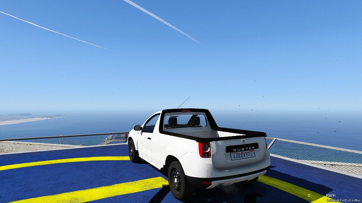 Dacia car Dacia Duster Pick-Up for GTA 5