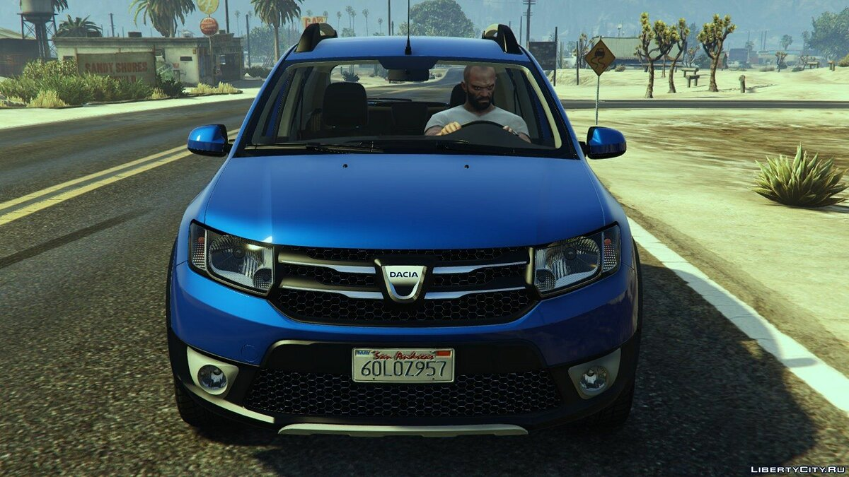 Dacia car Dacia Sandero Stepway 2014 for GTA 5