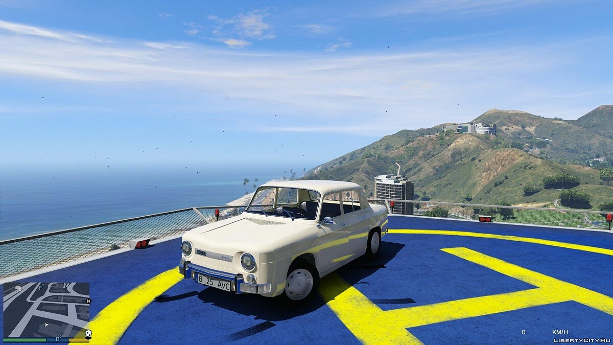 Dacia car Dacia 1100 / Renault 8 v1.2 for GTA 5