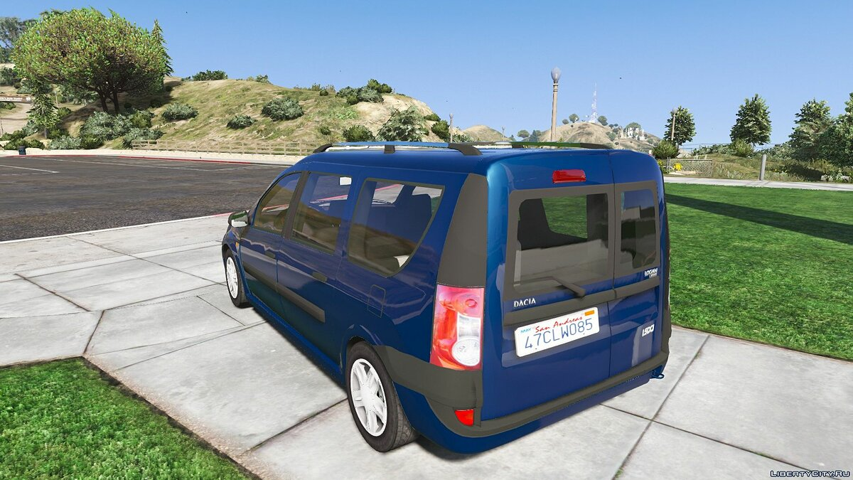 Dacia car 2007 Dacia Logan MCV 1.5Dci 1.0 for GTA 5
