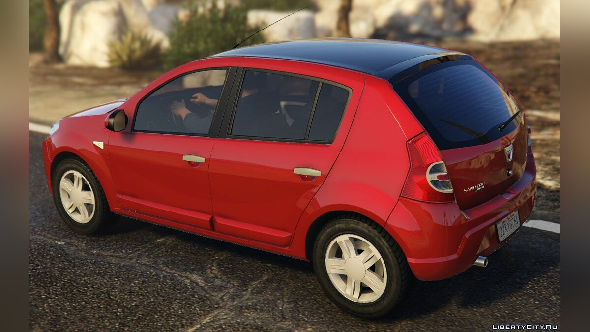 Dacia car Dacia Sandero 2008 for GTA 5