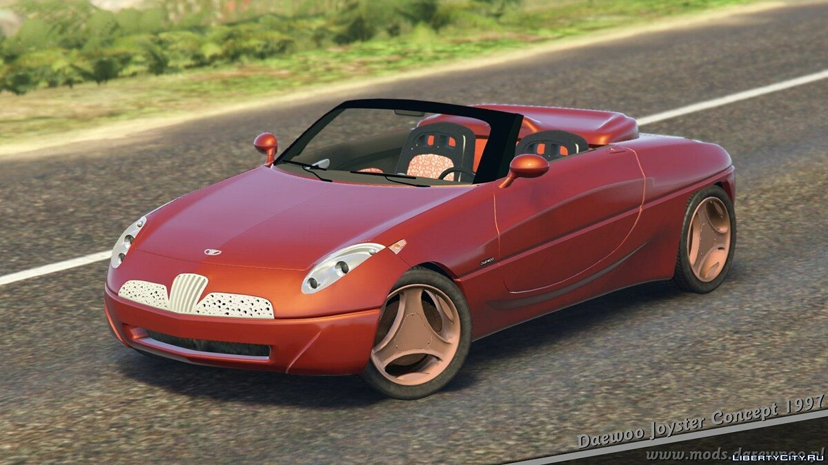 Daewoo car 1997 Daewoo Joyster Concept [Add-On + Tuning or Replace] v1.5.1 for GTA 5