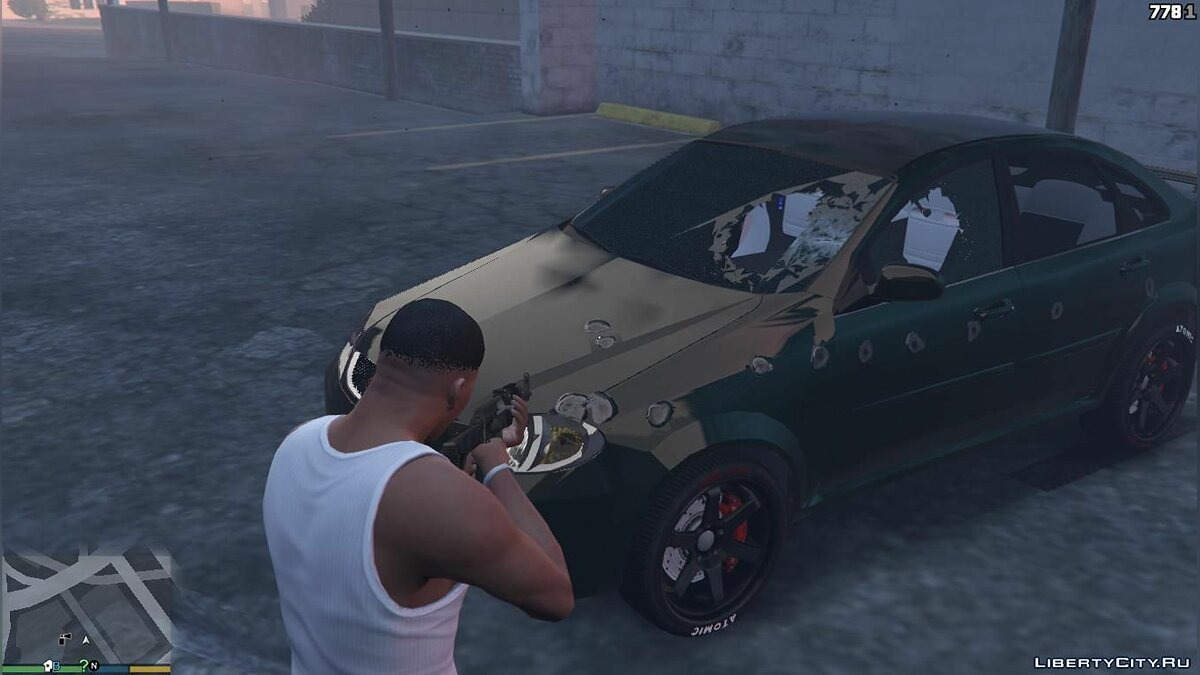 Daewoo car RAVON GENTRA UZ 1.0 for GTA 5
