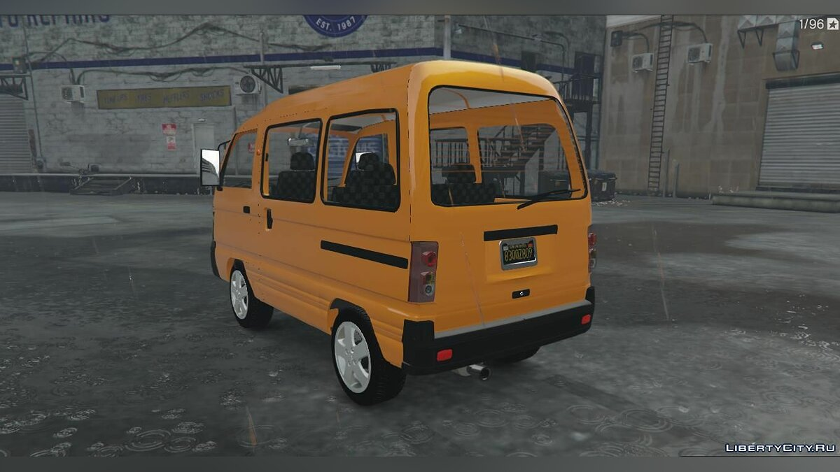 Daewoo car Daewoo Damas UZ 1.0 for GTA 5
