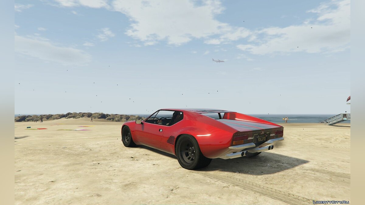 De Tomaso car De Tomaso Pantera GTS [Add-On] 1.0 for GTA 5
