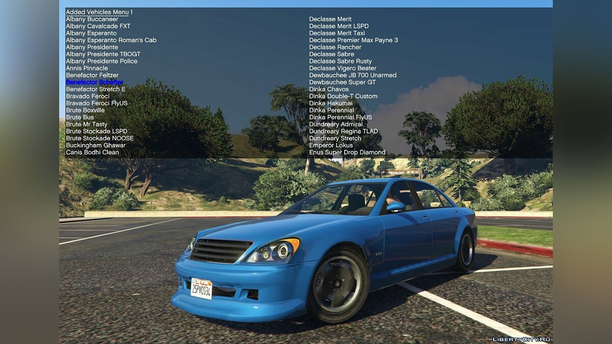 File Simple Trainer Support for IVPack v1.0.125 for GTA 5