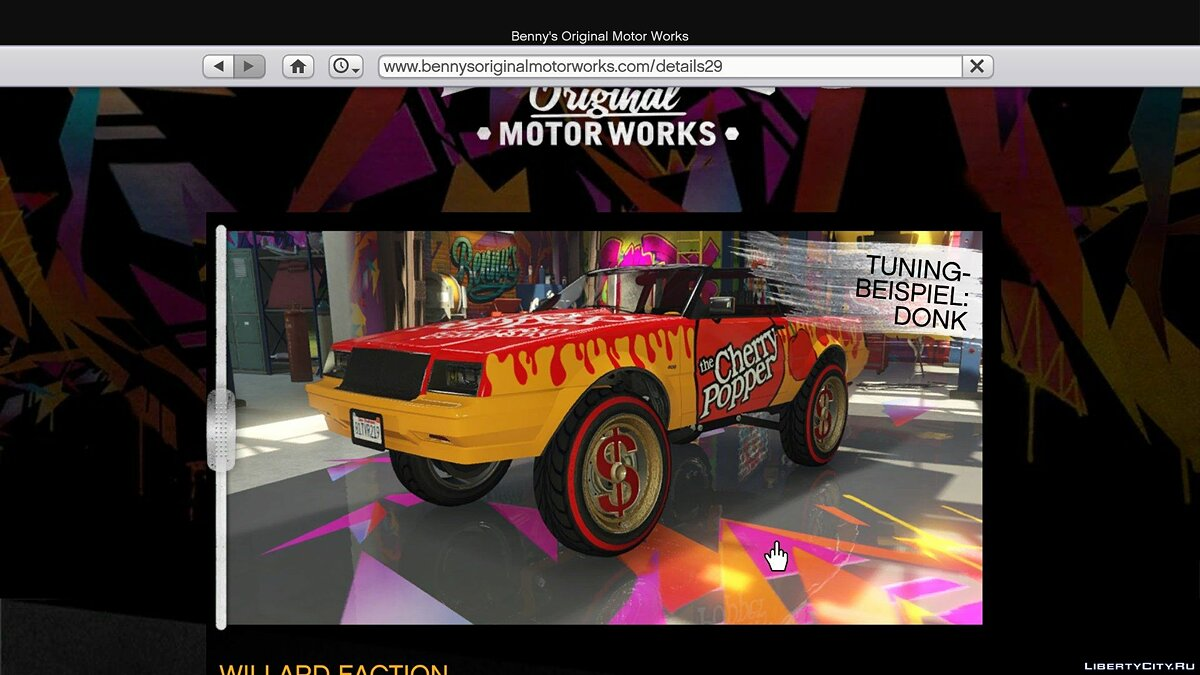 File Buy Online / Special Vehicles in SP with game website 1.8 for GTA 5