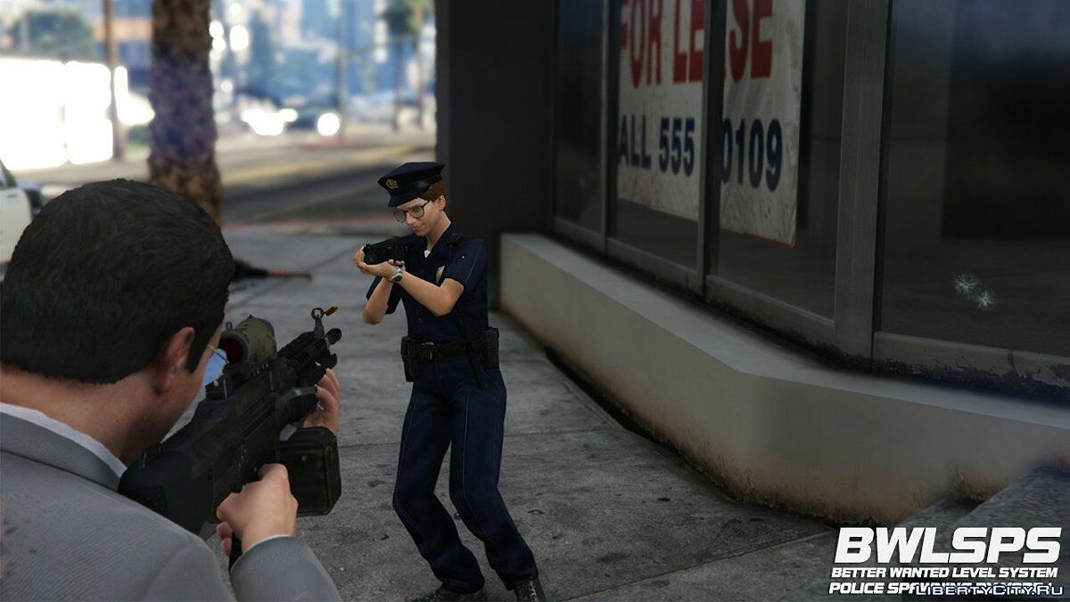 File Better Wanted Level System Police Spawning 2.2.2 for GTA 5