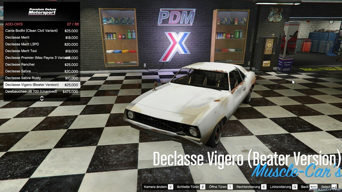 File Car Dealership Support for IVPack v1.0.125 for GTA 5