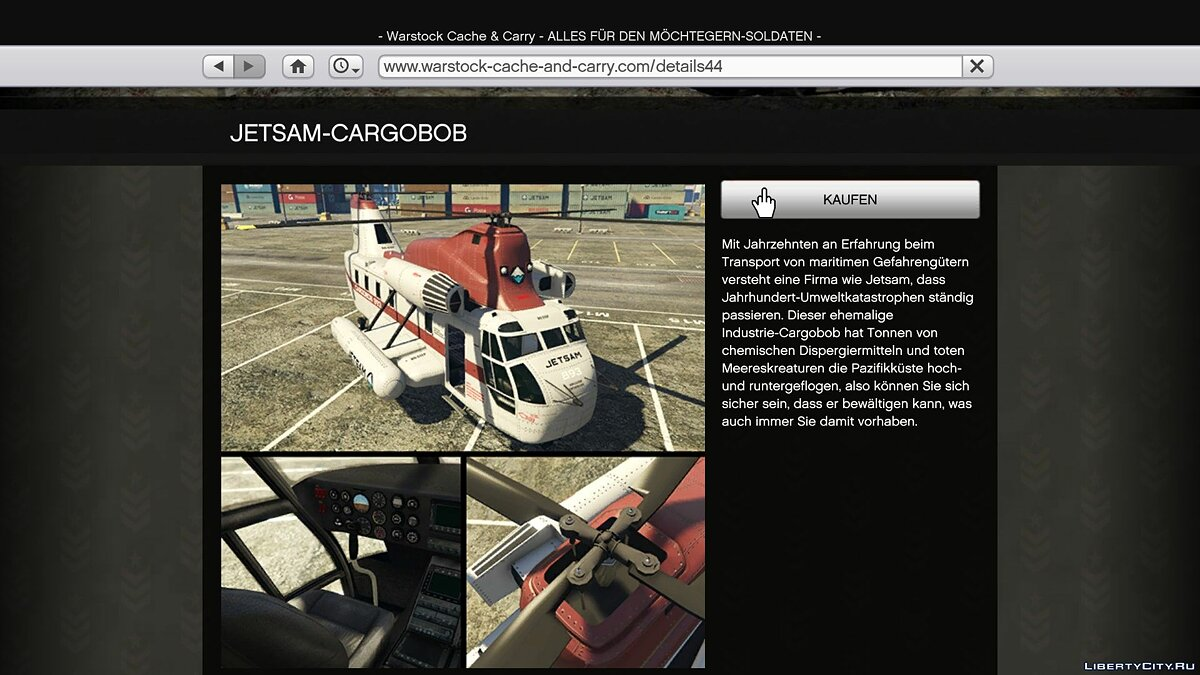 File Buy Online / Special Vehicles in SP via in-game website 2.2 for GTA 5