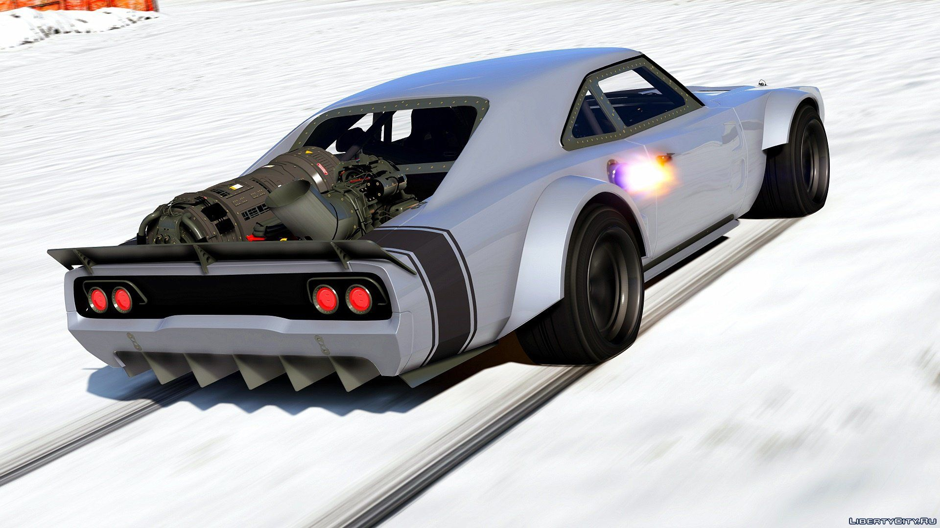 Dodge Charger Fast Furious  Addon Replace Hq   For Gta