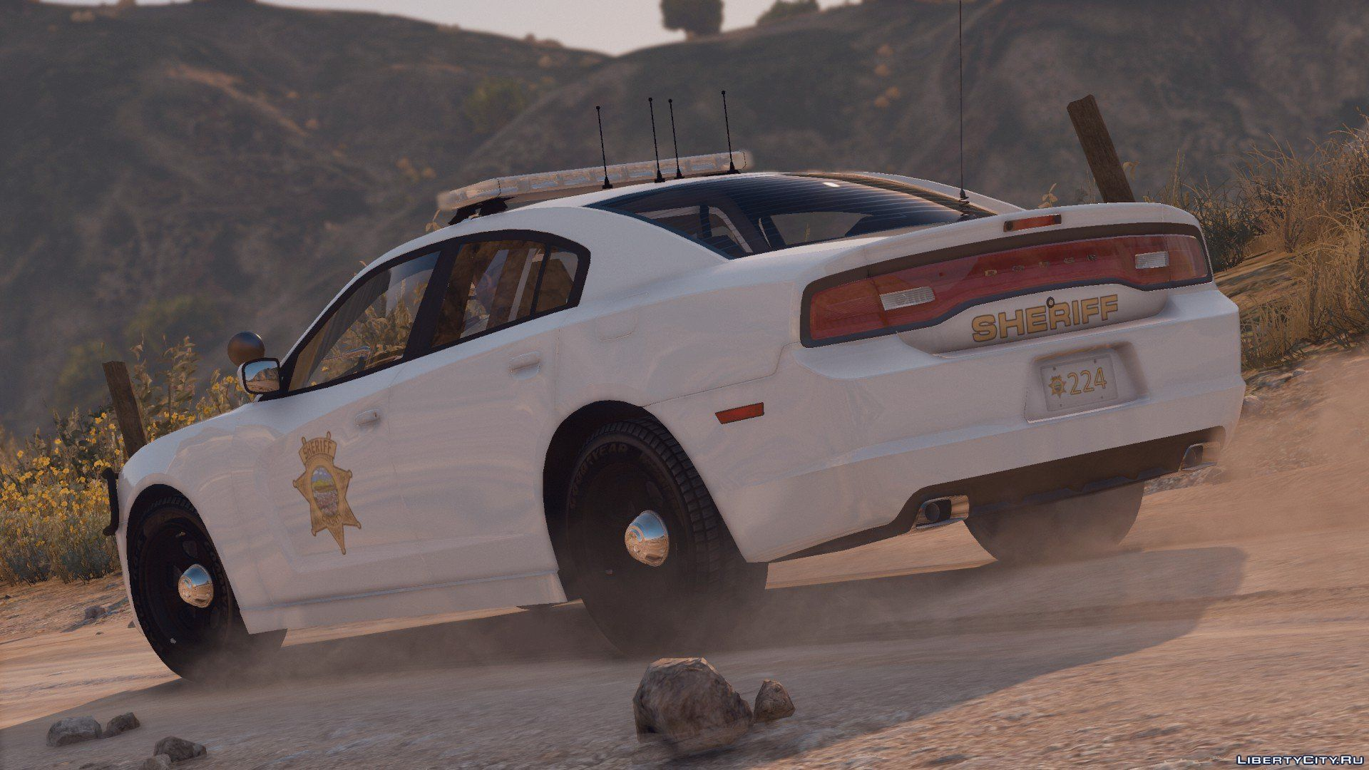 Dodge Charger 2014 Sheriff For Gta 5