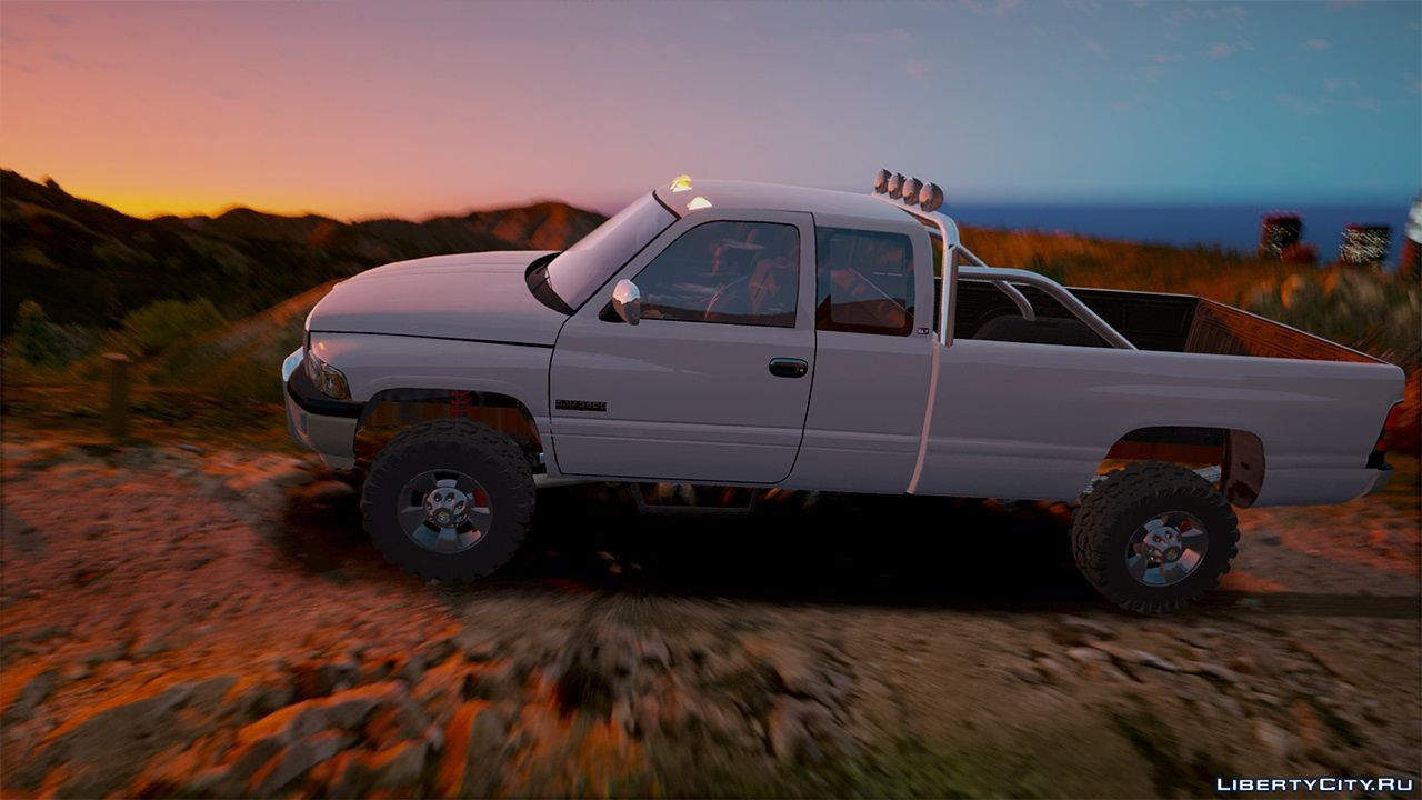 2nd Gen Dodge Ram 3500 Lifted 1 0 For Gta 5