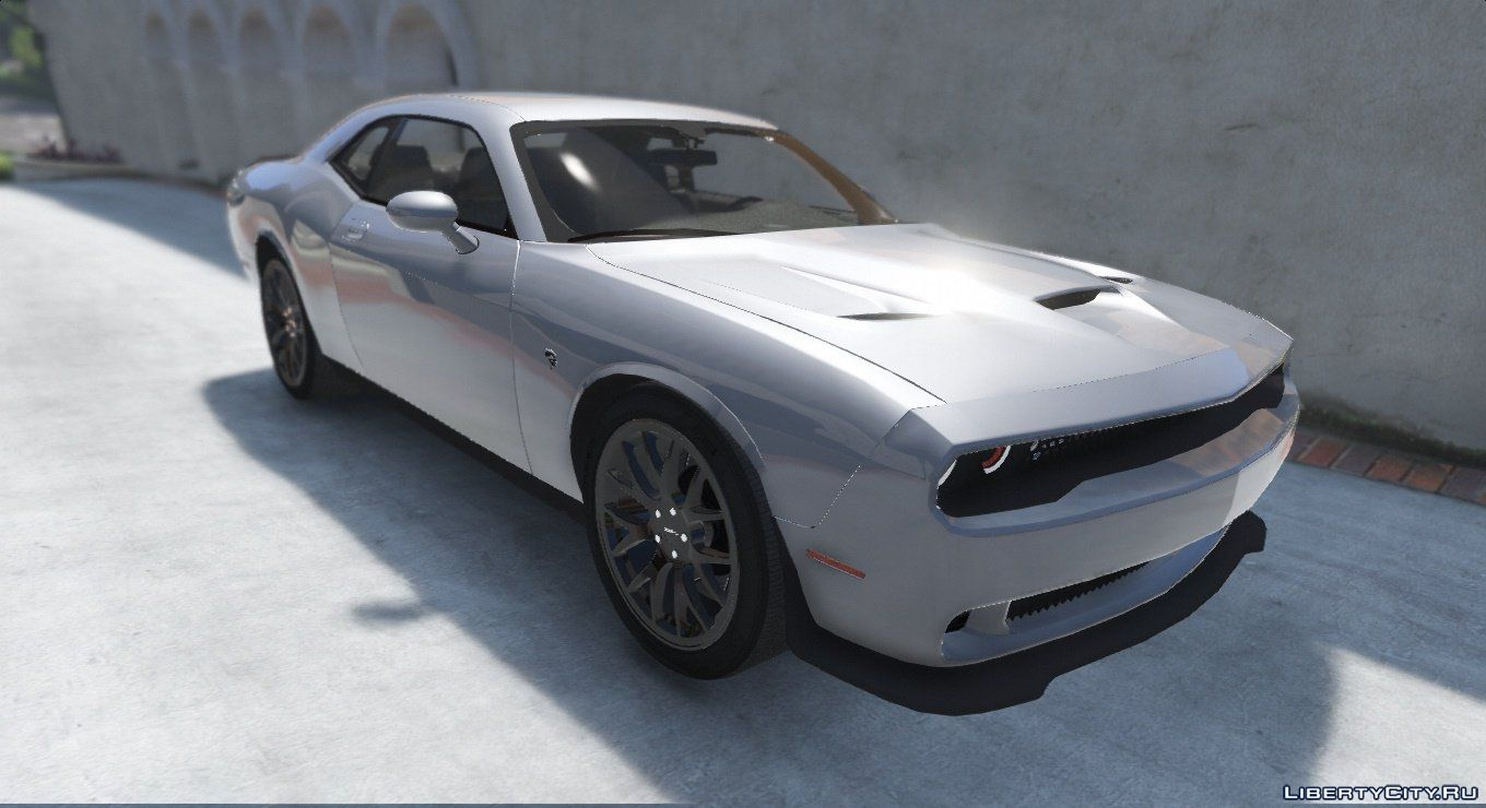 Dodge Challenger Hellcat 2016 Add On Replace 1 1 For Gta 5